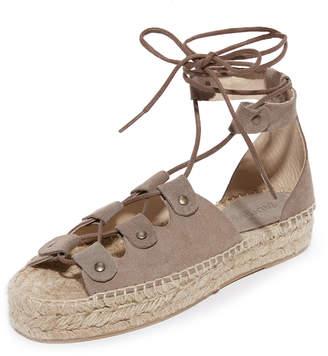 Soludos Ghillie Platform Sandals $149 thestylecure.com