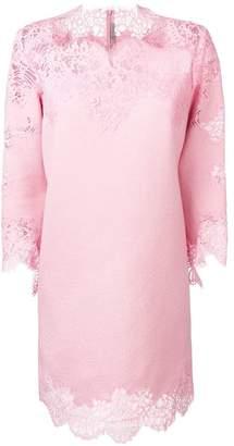 Ermanno Scervino lace inserts dress