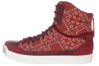 Louis Vuitton On The Road Bandana High-Top Sneakers