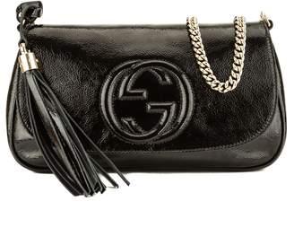 Gucci Black Patent Soho Crossbody (3949031)