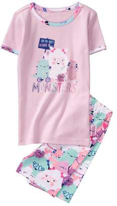 Gymboree Monsters 2-Piece Shortie Pajamas