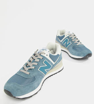New Balance Blue Suede 574 Trainers