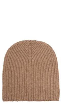 Edward Crutchley - Ribbed Knit Cashmere Beanie Hat - Womens - Grey
