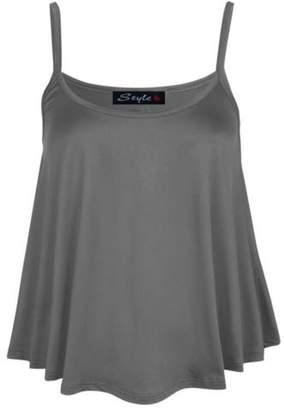 VIP Womens Swing Strap Cami Vest Top (8/10 (uk 12/14), )