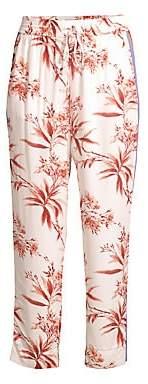 Joie Women's Quisy Cropped Floral & Stripe Pants