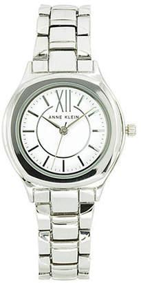 Anne Klein Analog Silvertone Bracelet Watch