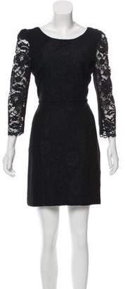 Tibi Lace Mini Dress