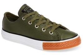 Converse Chuck Taylor(R) All Star(R) No Gum In Class Leather Low-Top Sneaker