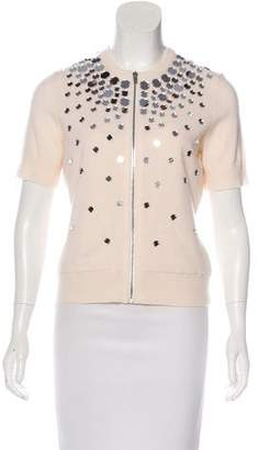 Michael Kors Cashmere Embellished Top w/ Tags