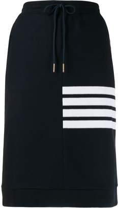 Thom Browne four stripe track skirt