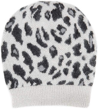 Missoni Knit Leopard Print Hat