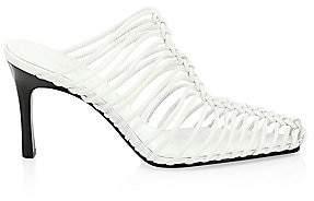 3.1 Phillip Lim Women's Sabrina Cage Leather Mules
