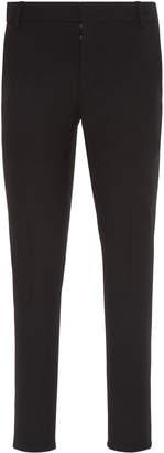 Balmain Striped Jersey Slim-Leg Pants