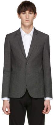 Paul Smith Black Check Buggy Slim Fit Blazer