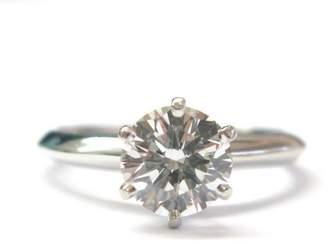 Tiffany & Co. Platinum Round Diamond Solitaire Engagement Ring