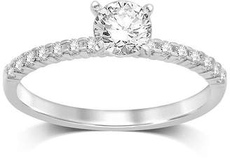 MODERN BRIDE 1/2 CT. T.W. Diamond 10K White Gold Solitaire Ring