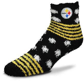 For Bare Feet Pittsburgh Steelers Homegater Sleep Soft Socks
