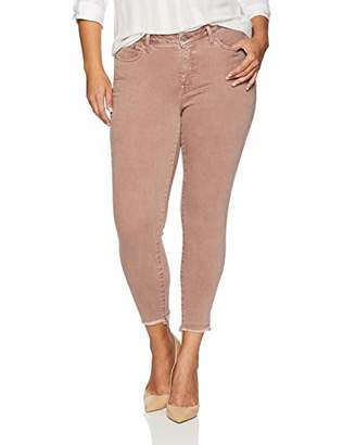 Lucky Brand Women's Plus Size MID Rise Lolita Skinny Jean in Antler Pink