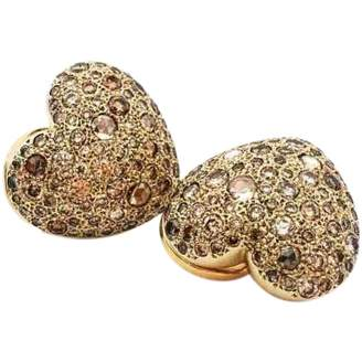 Pomellato Sabbia pink gold earrings