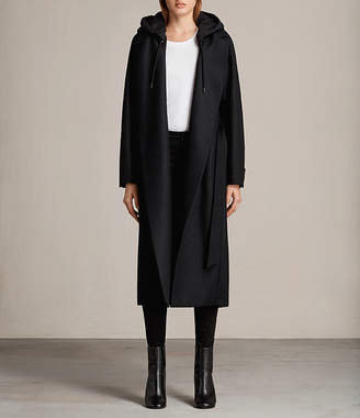AllSaints Sienna Hooded Coat