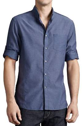 John Varvatos Star USA Basic Button-Down Shirt - Slim Fit