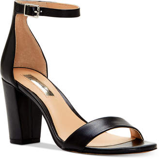 INC International Concepts Kivah Block-Heel Dress Sandals, Only at Macy's $89.50 thestylecure.com