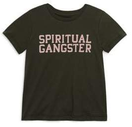 Spiritual Gangster Toddler's, Little Girl's & Girl's SG Varsity Tee