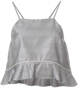 Ganni suiting top