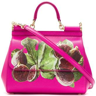 Dolce & Gabbana fig print tote bag