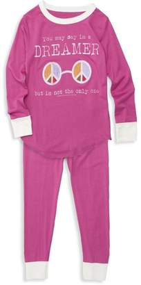 Rowdy Sprout Baby Girl's, Little Girl's & Girl's Two-Piece Dreamer Bamboo Pajama Set