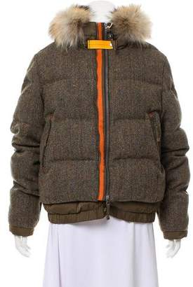 Parajumpers Quilted Wool Down Jacket w/ Tags