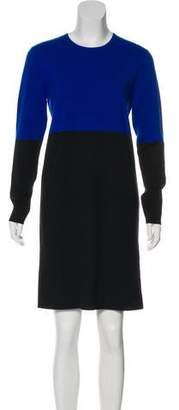 Michael Kors Wool Long Sleeve Dress