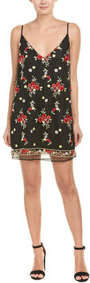 Honey Punch Embroidered Mini Dress