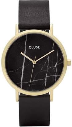 Cluse Women's La Roche 38mm Leather Band Steel Case Quartz Watch CL40004