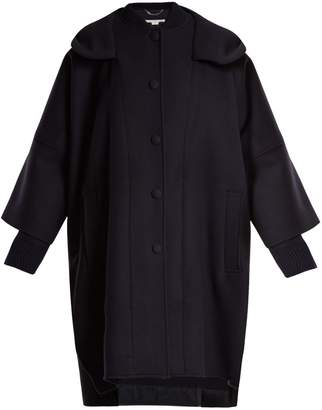 Stella McCartney Oversized hooded wool coat