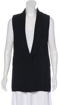 Alexander Wang Silk-Blend Longline Vest w/ Tags