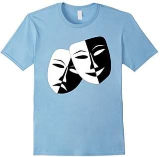 Drama Comedy and Tragedy Mask T Shirt