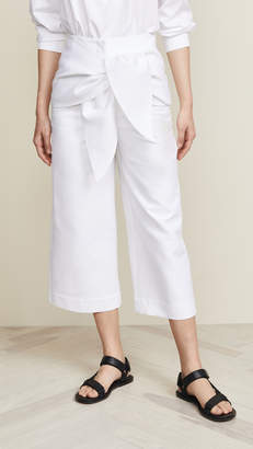 Tibi Demi Cropped Pants