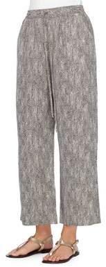 Joan Vass New York Drawstring Pants