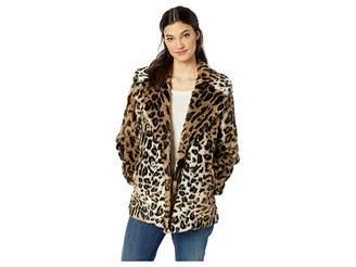 Sanctuary Seeing Spots Faux Fur Coat