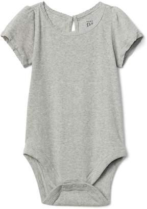 Gap Ribbed Lace Bodysuit