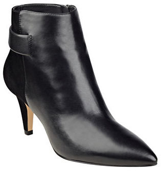 Nine West Nine West Jaison Leather Ankle-Length Booties