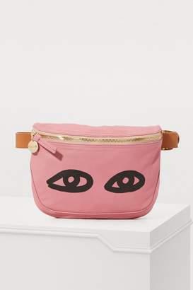 Clare Vivier Leather Fanny shoulder bag