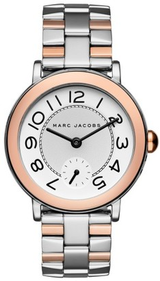Women's Marc By Marc Jacobs Riley Bracelet Watch, 36Mm $225 thestylecure.com