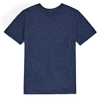 Arizona Short Sleeve V Neck T-Shirt-Boys 4-20
