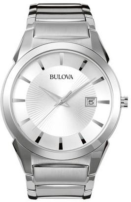 Bulova 96B015 Mens Stainless Steel Watch