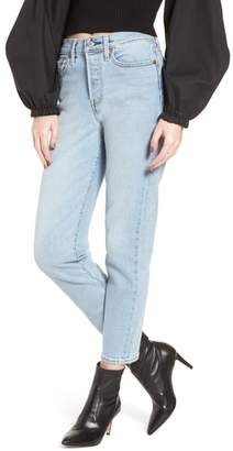 Levi's(R) Wedgie Icon Fit High Waist Crop Jeans