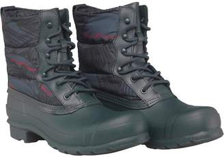 Hunter Womens Original Quilted Lace Up Short Wellington Boots Ocean