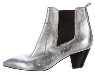 Marc Jacobs Marc Jacobs Metallic Ankle Boots
