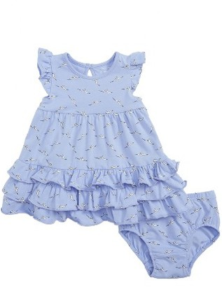 Infant Girl's Rosie Pope Seagulls Ruffle Dress $38 thestylecure.com
